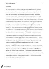 anth outline essay anth human evolution and diversity  document screenshots anth151 outline essay
