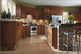 Dark Walnut Kitchen Cabinets Rustic Kitchen Cabinet Refacing Wall Mounted Cabinets Storage Long