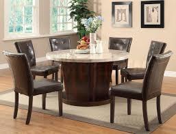 Black Round Kitchen Tables Round Dining Room Table Sets For 6 Collection Black Round Dining