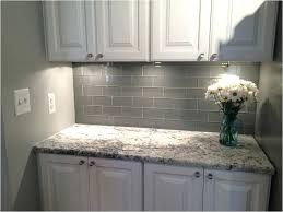 kitchen white subway tile with grout blue glass menards backsplash kitchenette design