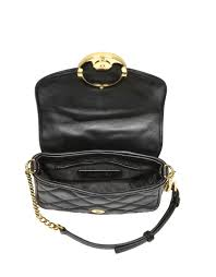 Lyst - Michael kors Small Fulton Quilted Crossbody Bag in Black & Gallery. Women's Michael By Michael Kors Fulton Women's Michael Kors Quilted  Bag Adamdwight.com