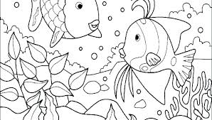 Free Ocean Coloring Pages For Adults Sheets Printable Animals