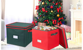 Christmas Decorations Storage Box Christmas Ornament Storage Box With LidHold Up To 100 Ornaments 43