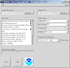 Noaa Chart Reprojector Reproject Noaa Bsb Raster Navigation Charts And Export Them
