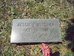 Bessie Mariah Facemire Butcher (1887-1961) - Find A Grave Memorial