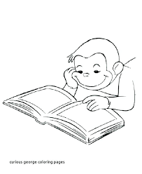 Curious George Free Printable Coloring Pages Free Curious Coloring
