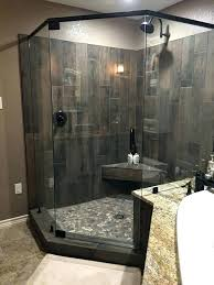 beneficial wood grain tile shower h9251461 wood tile shower the best river rock floor ideas on natural wood grain tile shower