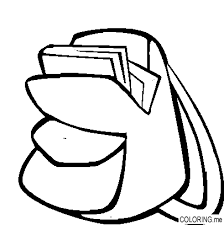 Small Picture Coloring page Back pack Coloringme
