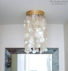 capiz light nest shell light fixture capiz lighting