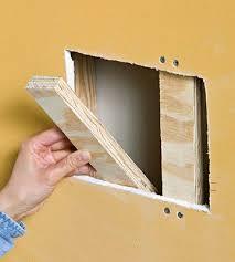 repairing holes diy home repair home