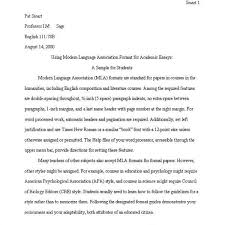 How To Format A College Paper Writing A College Essay Format College Papers Examples