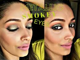 tutorial metallic smokey eyes l oreal infallible eyeshadow