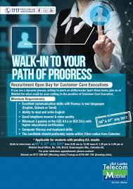 Customer Care Executive Jobs In Sri Lanka Job Vacancies In
