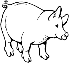 drawn farm animals color pencil and in color drawn farm animals printable coloring pages