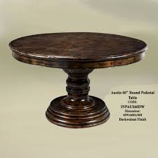 60 round glass dining table luxury inch wooden