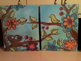 large canvas painting ideas