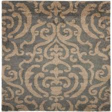 safavieh florida gray beige 4 ft x 4 ft square area rug