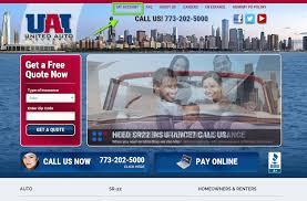 united auto insurance login step 1