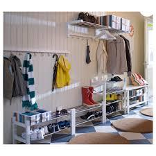 Ikea Shoe Storage Tjusig Shoe Rack Black Ikea