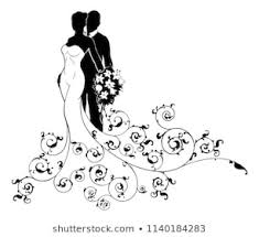 Black And White Couple Fashion Stock Illustrations Images Vectors