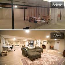 basement remodeling cincinnati. Basement Remodeling Before And After What To Look For In A Contractor Starting Cincinnati