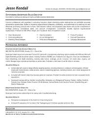 executive cover letter for resume advertising account executive cover letter resume examples sales