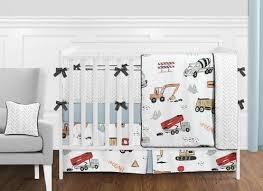 construction truck baby boy nursery