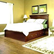 solid wood headboard oak queen mission style king
