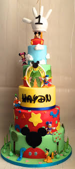 Mickey Mouse Clubhouse 1st Birthday Cake 1st Birthday Mickey Mouse