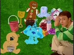 blues clues gingerbread boy. Delighful Gingerbread Happy Birthday Blueu0027s Clues 20 Years Old Today Intended Blues Clues Gingerbread Boy E