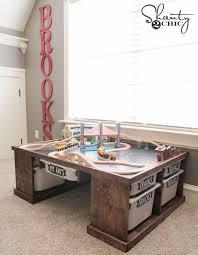 diy train or lego table