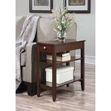convenience concepts american heritage tier end table with