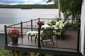 modern glass deck railings options