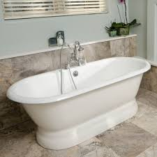 chic inch freestanding bathtub tubs and soaking stand alone for designs installation bathroom with post