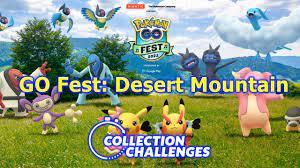Desert Mountain Collection Challenge