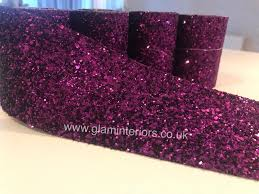 cadburys purple glitter wall slim fabric wallpaper borders 1 of 2free