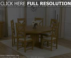 round oak dining table for 6 dining room table round table 6 with solid oak extending