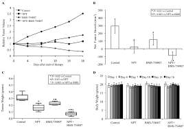 Antitumor Activity Of Nab Paclitaxel And Bms 754807 In Panc