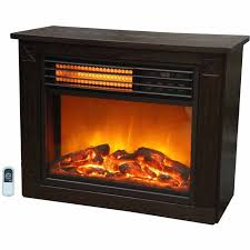 infrared fireplace with heater function