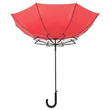 <b>Зонт</b>-трость <b>Unit Wind</b>, красный