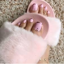 Cute Pedicure Designs Toenails And Pedicure Trending Design Ideas Pink Toe Nails