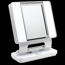 ottlite natural lighted makeup mirror white vanity lighted mirrors makeup light