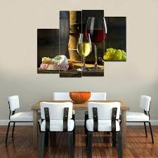 painting for dining room. Plain Room Paintings For Dining Room Walls Canvas Print Painting Wine Wall  Art Decor Picture Modern On Painting For Dining Room I