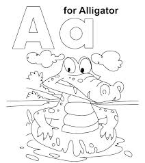 Printable Coloring Pages For Preschool Alphabet Printable Coloring
