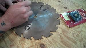 craftsman saw blade clock. craftsman saw blade clock