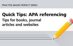 Apa 6 0 Format Example Apa Referencing Guide University Of Southern Queensland