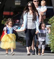 Megan Fox and Brian Austin Green with ...