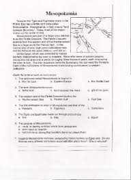Mesopotamia Worksheet Free Worksheets Library | Download and Print ...