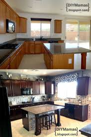 Diy Staining Kitchen Cabinets 25 Best Ideas About Restaining Kitchen Cabinets On Pinterest