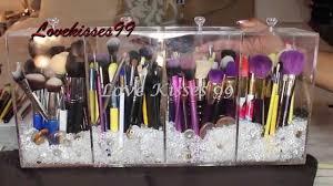 cover my custom brush holder from mk acrylic designs 12 diy makeup